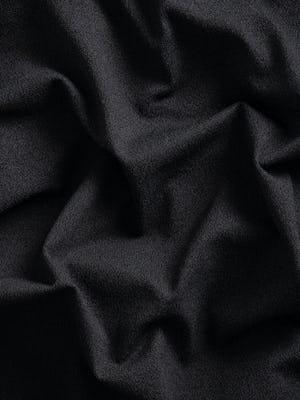 charcoal static atlas fabric