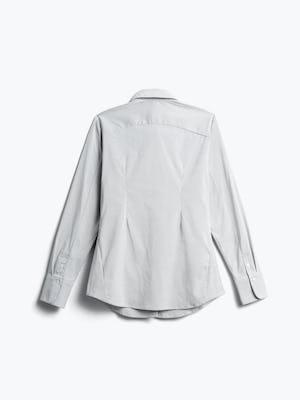 Women's Grey Stripe Aero Dress Shirt back