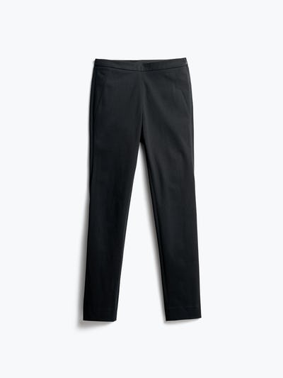 Women's Black Skinny Kinetic Pants front