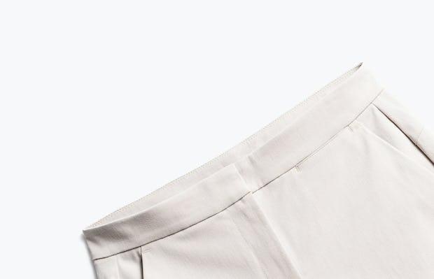 Close up of Women's Light Khaki Momentum Chino Short front