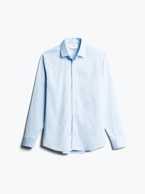 Men's Sky Blue End on End Aero Dress Shirt Front