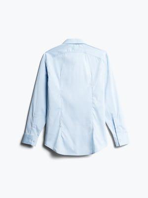 Men's Sky Blue End on End Aero Dress Shirt Back