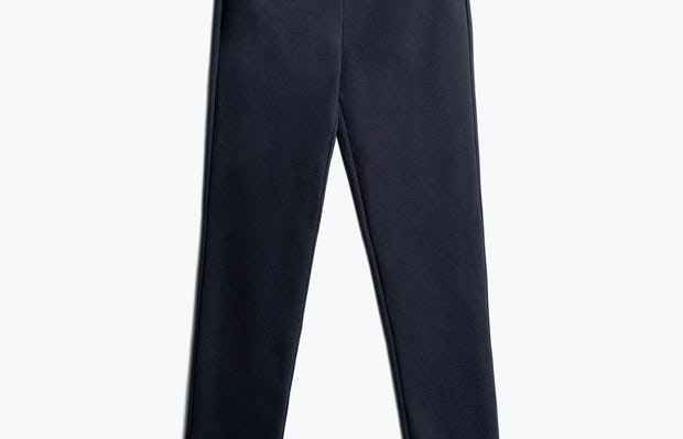 Women's Navy Fusion Straight Leg Pant Front