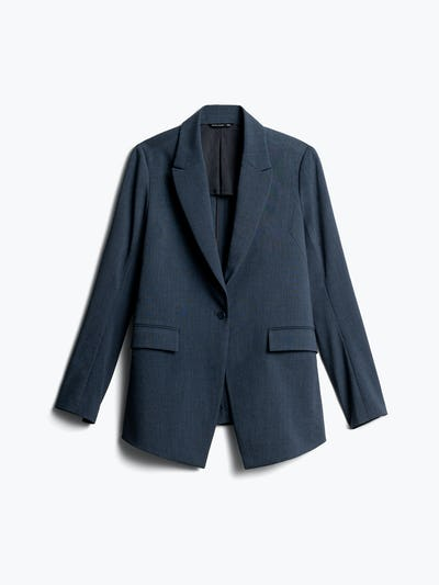 Women's Azurite Heather Velocity Blazer Front