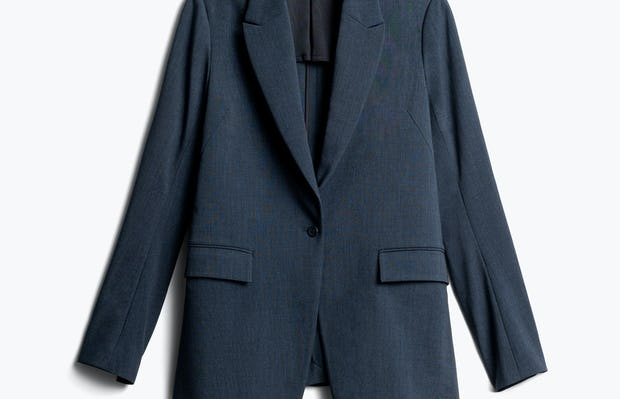 Women's Azurite Heather Velocity Blazer Front