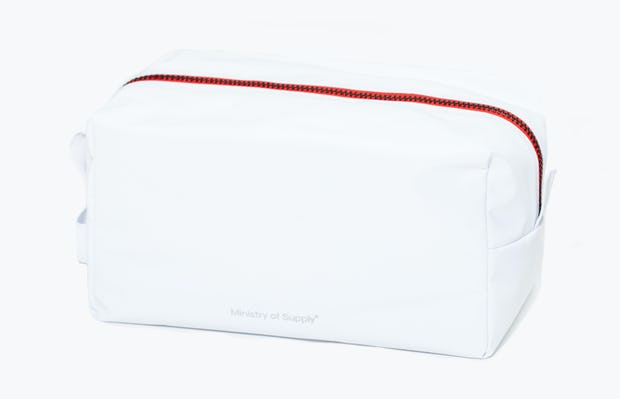 doppler essentials kit white red zipper side view