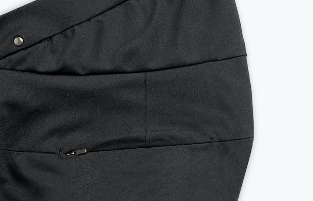 Close up of Women's Black Kinetic Adaptive Pants side