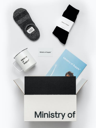 ministry of supply gift box