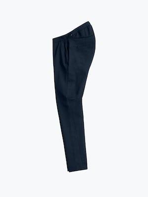 Women's Navy Kinetic Adaptive Pants flat shot of side