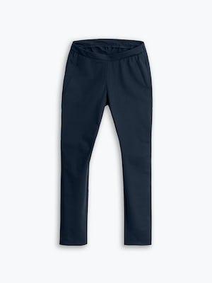 Women's Navy Kinetic Adaptive Pants flat shot of front