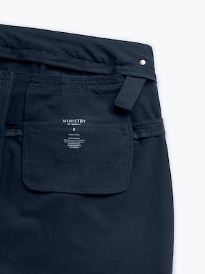 Women's Navy Kinetic Adaptive Pants interior grab hold