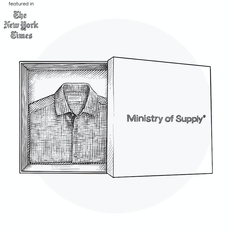 Illustration of Shirt in Box