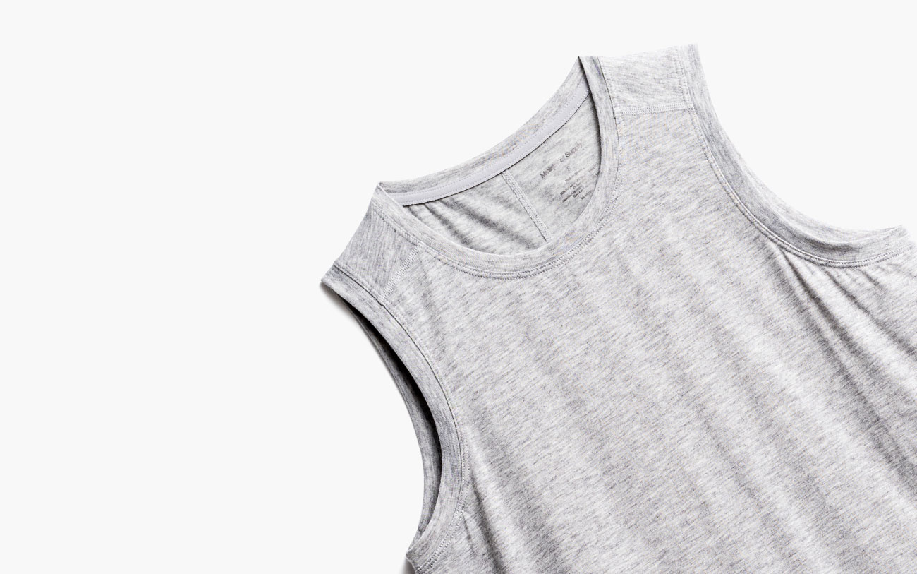 women's composite merino active tank zoomed shot