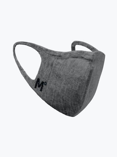 marble 3d print knit mask 2.0 side shot showing logo
