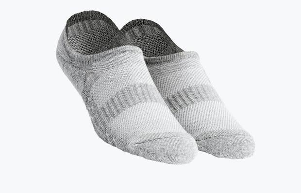 grey atlas no show sock