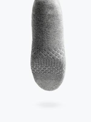 grey atlas no show sock shot of footbed