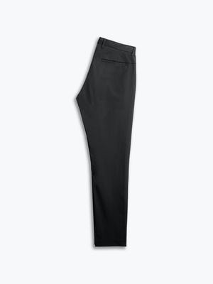 men's black kinetic sneaker cut pant flat folded