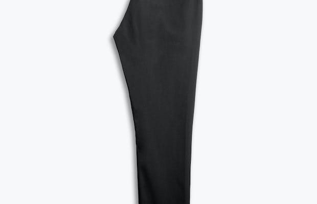 men's black kinetic sneaker cut pant flat folded