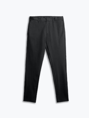 men's black kinetic sneaker cut pant flat shot of front
