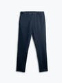 men's navy kinetic sneaker cut pant flat shot of front