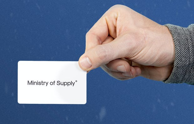 ministry of supply gift card