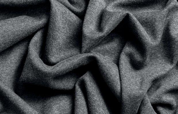 charcoal heather hybrid everywhere blanket plush side fabric waves