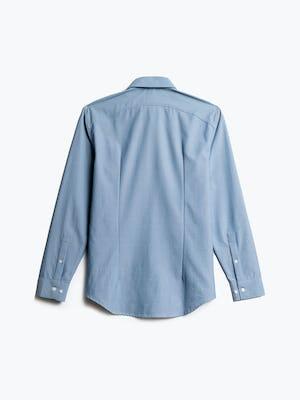 Men's Blue Oxford Aero Zero Dress Shirt back