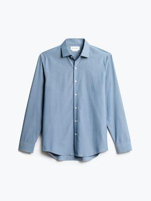 Men's Blue Oxford Aero Zero Dress Shirt front