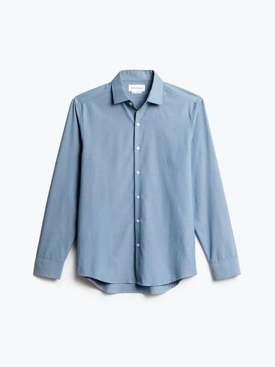 Men's Blue Oxford Aero Zero Dress Shirt front