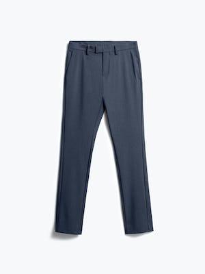 men's azurite heather velocity dress pant flat shot of front