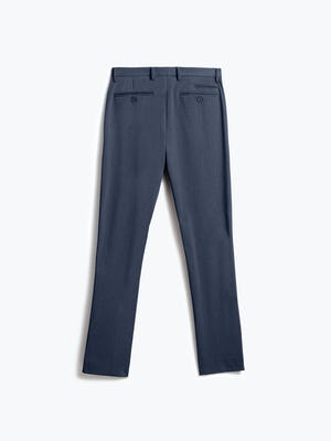 men's azurite heather velocity dress pant flat shot of back