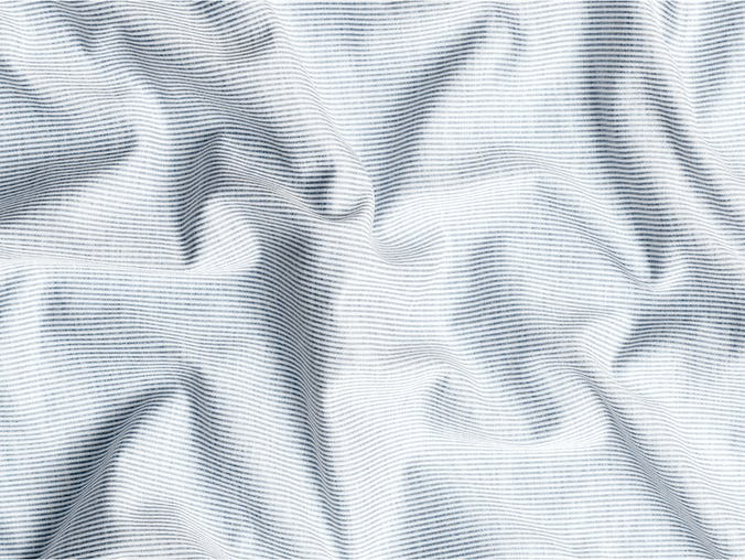 grey heather stripe hybrid wavy fabric
