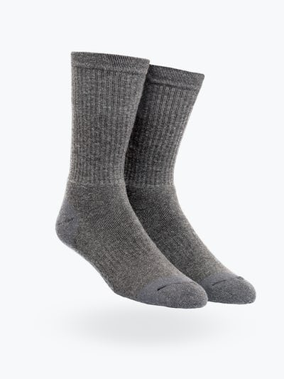 Grey Atlas Merino Boot Sock