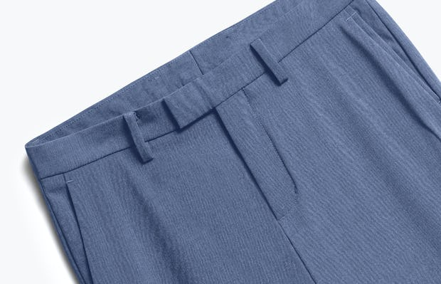 Close up of Mens Calcite Heather Velocity Pants - Front