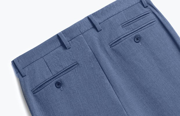 Close up of Mens Calcite Heather Velocity Pants - Back
