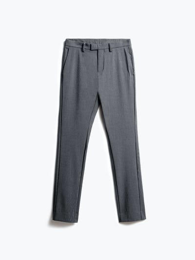 Mens Graphite Velocity Dress Pant - Front