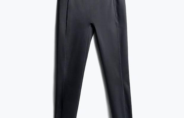 women's black joule active legging flat shot of front