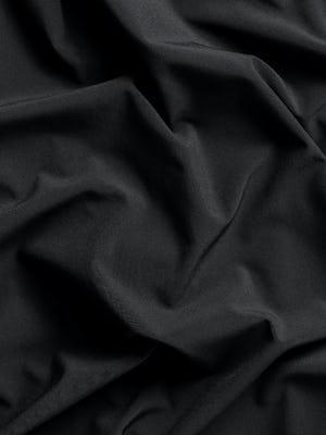 Close up of black Juno fabric