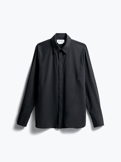 Women's Black Juno Blouse front