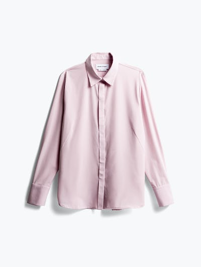 Front of Women's Rose Quartz Juno Blouse