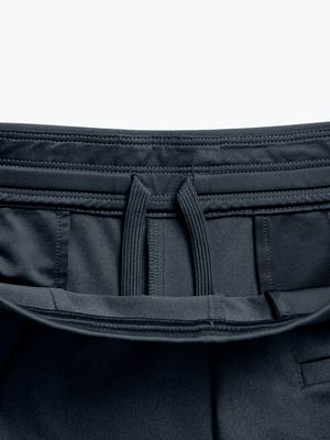 women's navy kinetic pull on pant close up of inner waistband