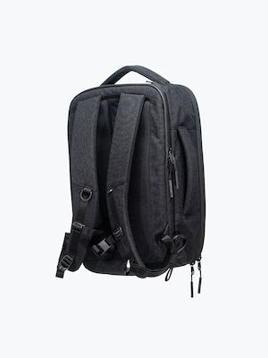 black aer lunar pack shot of back showing straps