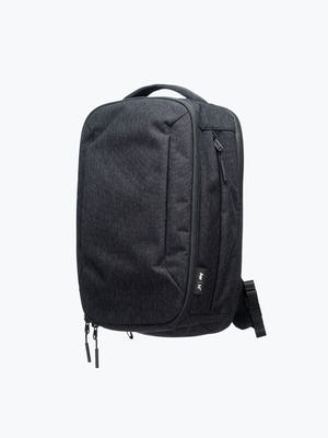 black aer lunar pack shot of front at an angle