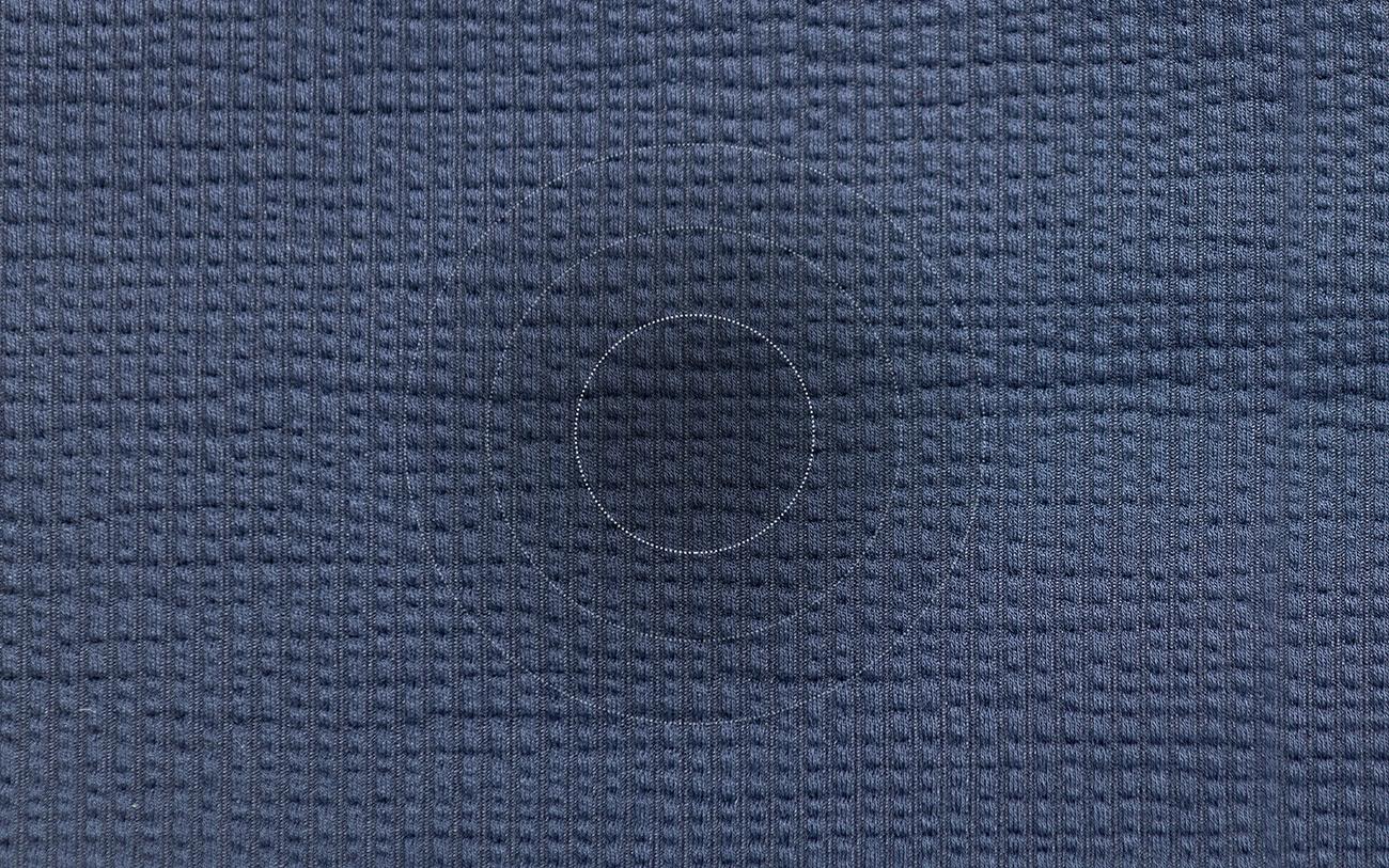 Close up of Hybrid seersucker fabric