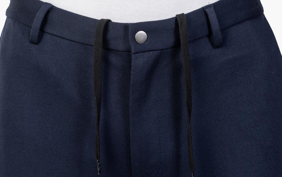 Close up of Men's Navy Fusion Pants