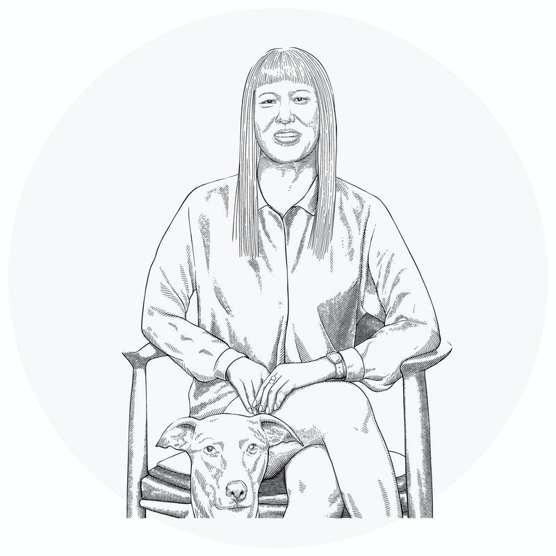 Illustration of Belinda Chun