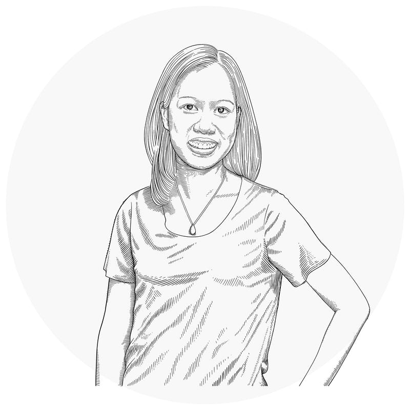 Illustration of Julie Loh