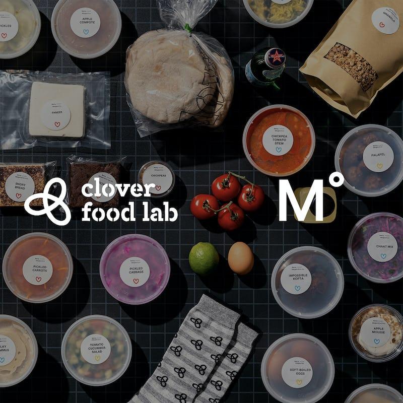 Clover Food Lab x Mº Collab