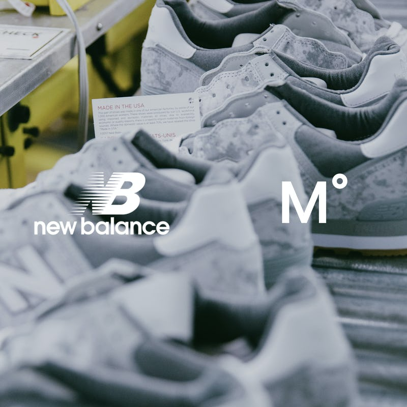 New Balance Shoes on Factory Line