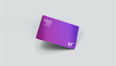 $50 Credit Card